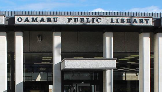 Waitaki District Library online